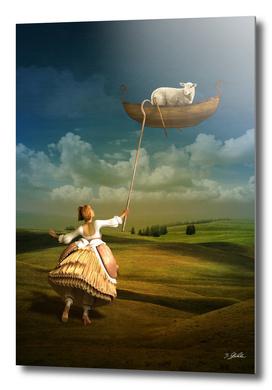 The adventurous sheep