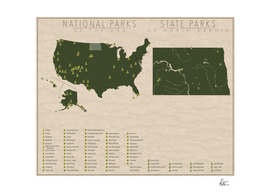 US National Parks - North Dakota
