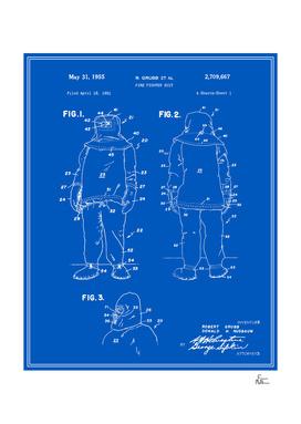 Fire Fighter Suit Patent - Blueprint