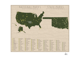 US National Parks - Oklahoma