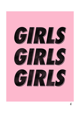 Girls Girls Girls [Black]