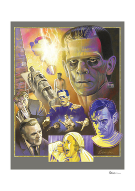 Frankenstein Tribute Poster