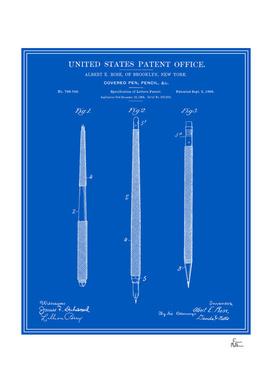 Pencil Set Patent - Blueprint