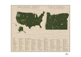 US National Parks - Oregon