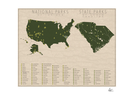 US National Parks - South Carolina