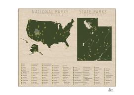 US National Parks - Utah