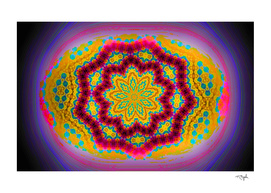 Egg Like Colorful Abstract