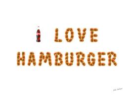 I love hamburger