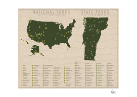 US National Parks - Vermont