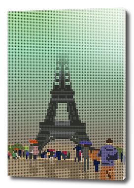 Eiffel In The Fog