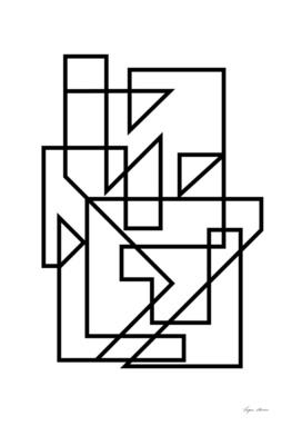 Black & White Minimal Lines Design