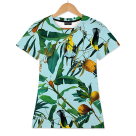 Fruit and Birds Pattern