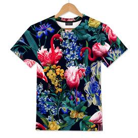 Floral and Flemingo V Pattern