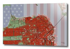 San Francisco stripsandstars