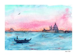 Love in Venice || watercolor