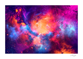 Artistic XC - Colorful Nebula
