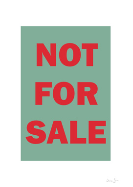 NOT FOR SALE 01