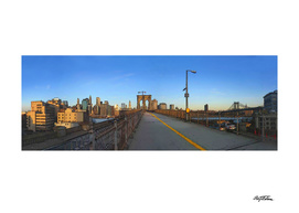 The Brooklyn Bridge, 6 a.m.