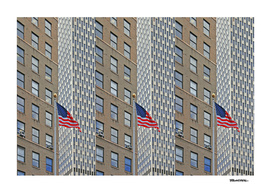 Americana - Triple Stars and Stripes - Photo - NYC