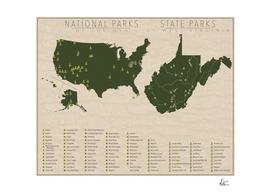 US National Parks - West Virginia