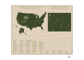 US National Parks - Wyoming