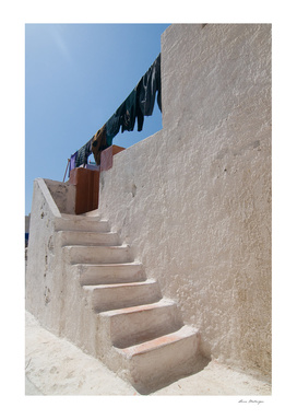 Unique Santorini architecture
