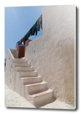 Unique Santorini architecture