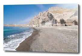 Santorini Vlichada beach