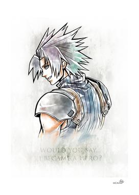 Zack Fair Artwork ( Final Fantasy VII - Crisis Core)