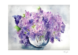 Etude in lilac