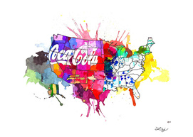 US Coke Map