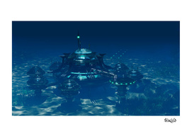 Futuristic Sea City