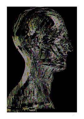 Glitch head