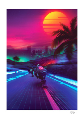 Synthwave Midnight Outrun