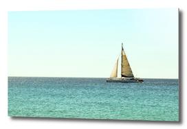 Sail Away with Me, Ocean, Sea , Blue Sky  and Summer Sun