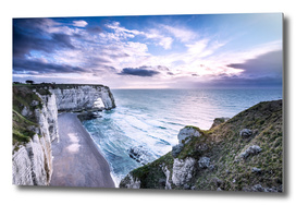 Natural Rock Arch -  Normandy, France