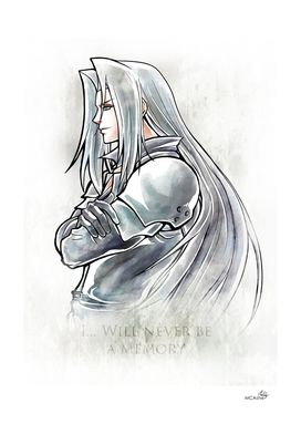 Sephiroth Artwork Final Fantasy VII