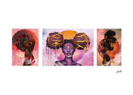 The Orishas (Triptych)