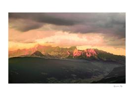 Escaping  -  Mountains - Dachstein, Austria