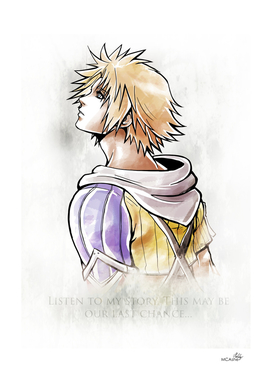 Tidus Artwork Final Fantasy X