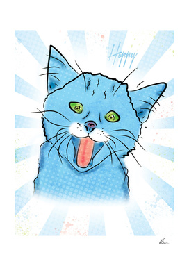 Happy Cat | Pop Art