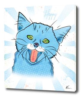 Happy Cat | Pop Art