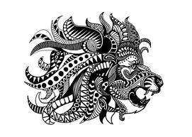Ornate Lion