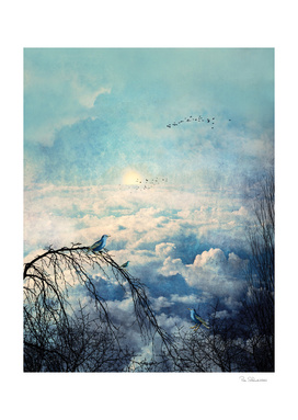 HEAVENLY BIRDS III-A