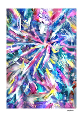 Abstract Star Play 1
