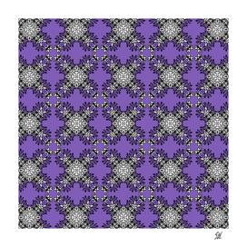 Cathedral Garden~Purple Geraniums
