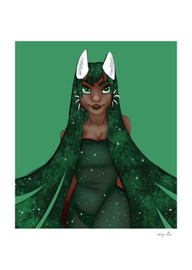 Jade Space Goddess