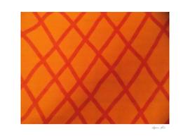 Straight Orange Lines With Orange Bachground