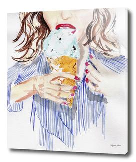 gelato girl