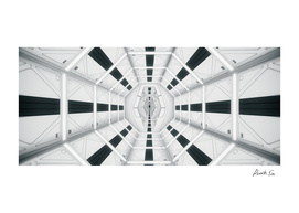 2001: A Space Odyssey Without Anyone_tunnel